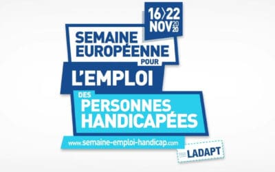 La semaine Européenne du Handicap c'est du 16 au 22 novembre 2020.